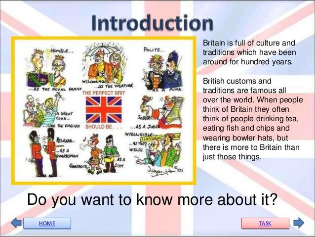 british culture webquest