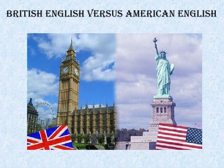 British English versus American English