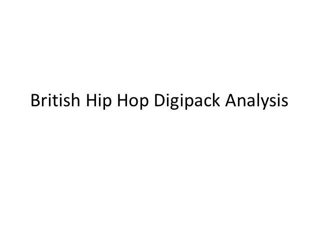British Hip Hop Digipack Analysis