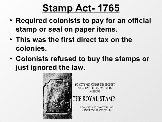 British legislation- No Taxation Without Representation