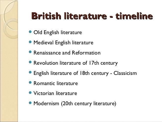 british literature introduction