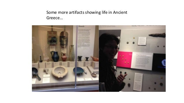 Some more artifacts showing life in Ancient Greece…