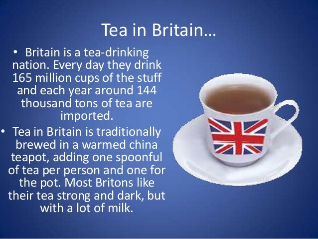 How Many Cups Of Tea British Drink Each Day