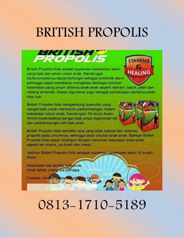 Booming 0813 1710 5189 Wa British Propolis Kabupaten Lampung Timur