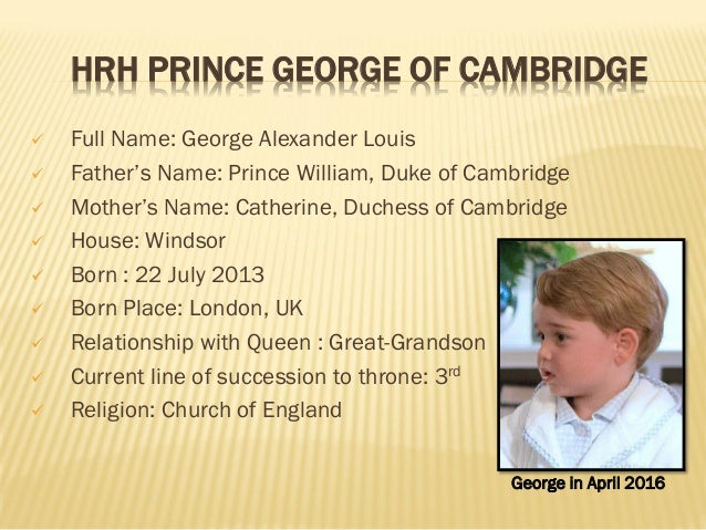 List Of Current Member 39 S Of Brithish Royal Family