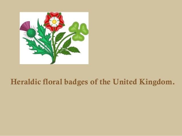 Heraldic floral badges of the United Kingdom.