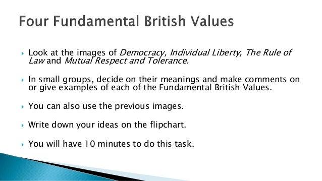 british values presentation edited