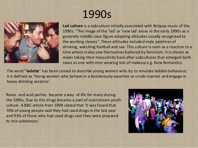 british youth culture timeline