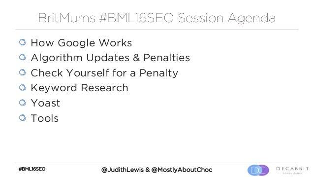 Understanding SEO - BritMums Live 16 Presentation Slide 3