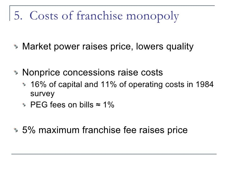 an analysis of franchising Franchising is a business model in which many different owners share a single brand name a parent company allows entrepreneurs to use the.