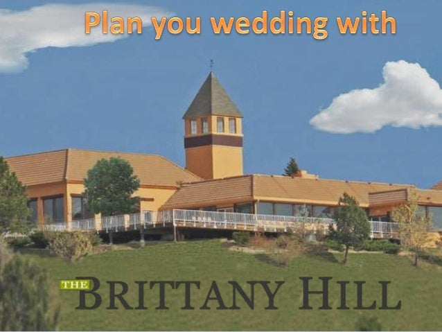 Plan Your Wedding With Brittanyhill