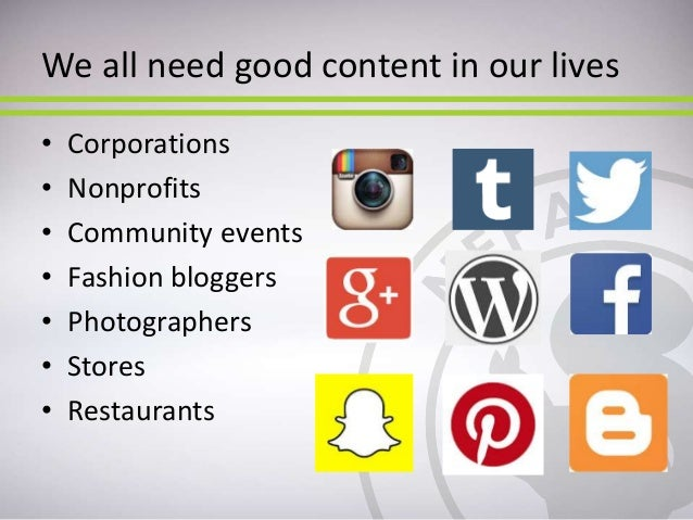 NEPA BlogCon 2015: The Content You Didn't Even Know You Had Slide 2