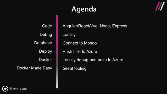 Building full-stack Node js web apps with Visual Studio Code