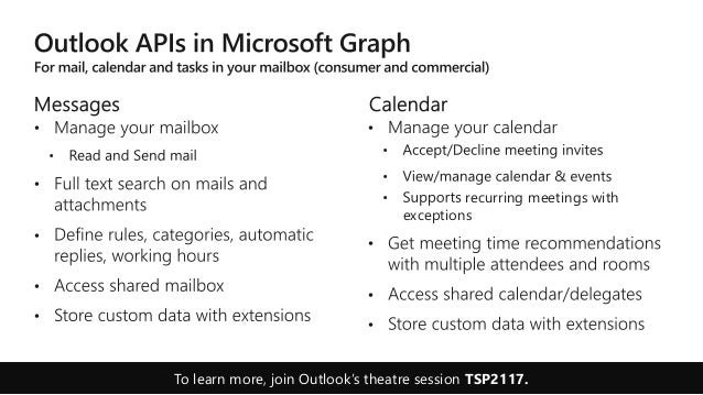 Microsoft Graph: Connect to essential data every app needs