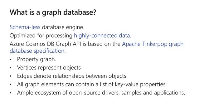 How to take advantage of scale out graph in Azure Cosmos DB
