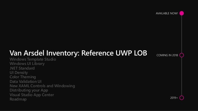 Rapidly Construct Lob Applications With Uwp And Visual