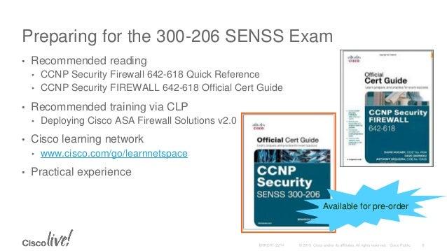 Study pdf senss 300-206 guide