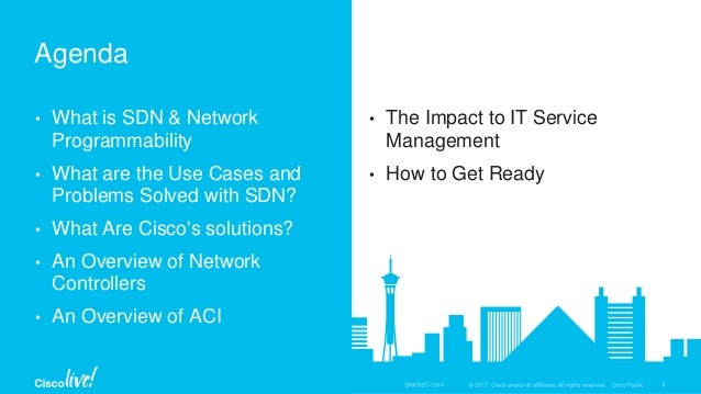 Introduction to SDN and Network Programmability - BRKRST