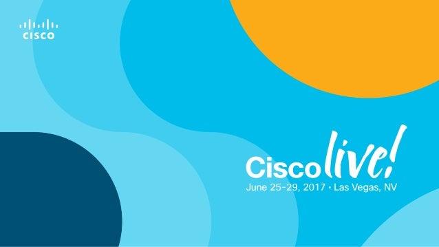 Cisco Live 2017: Container networking deep dive with Docker Enterpris…