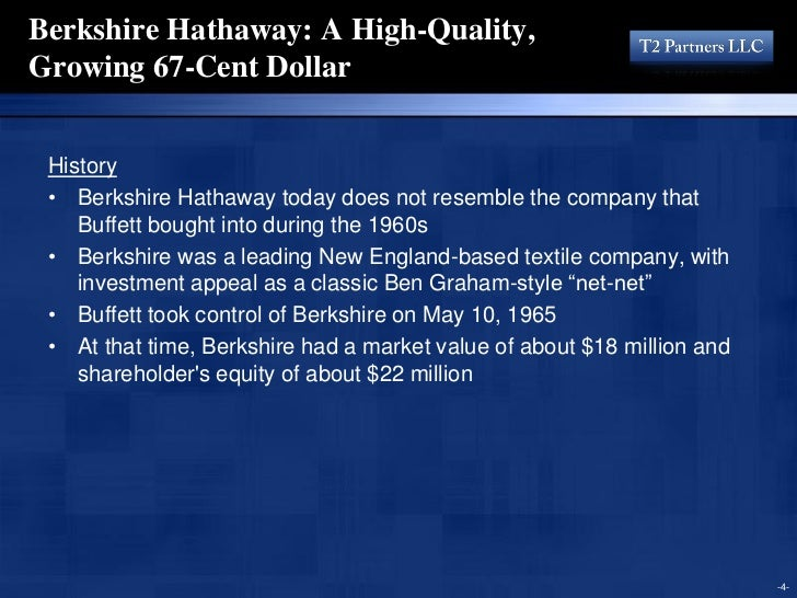 berkshire hathaway analysis Pdf | the financial statements of a company represent a window into the  monetary health and potential of that company over time it is the responsibility of  the.