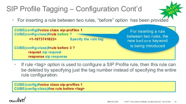 Cisco Live! :: Deploying SIP Trunks with Cisco Unified