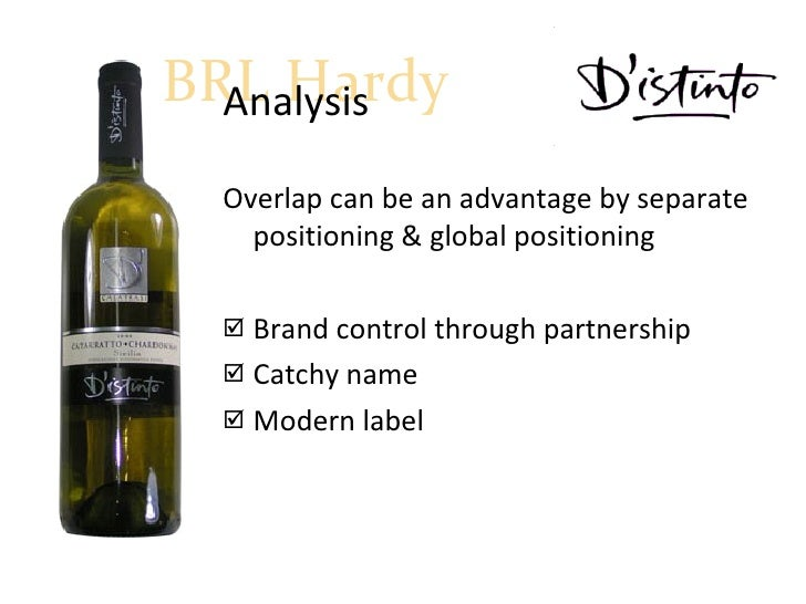 "brlh globalizing an australian wine company Brl hardy: globalizing an australian wine company parimal kumar shivendu  pgp/14/285 international business -sec-e 2011 ""there's nothing serious in."