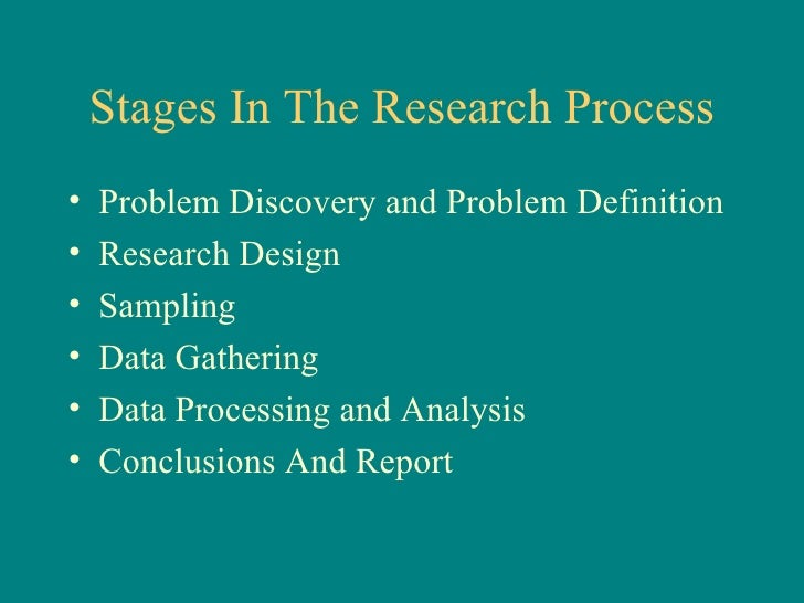 Chapter 4: The Business Research Process - PowerPoint PPT Presentation