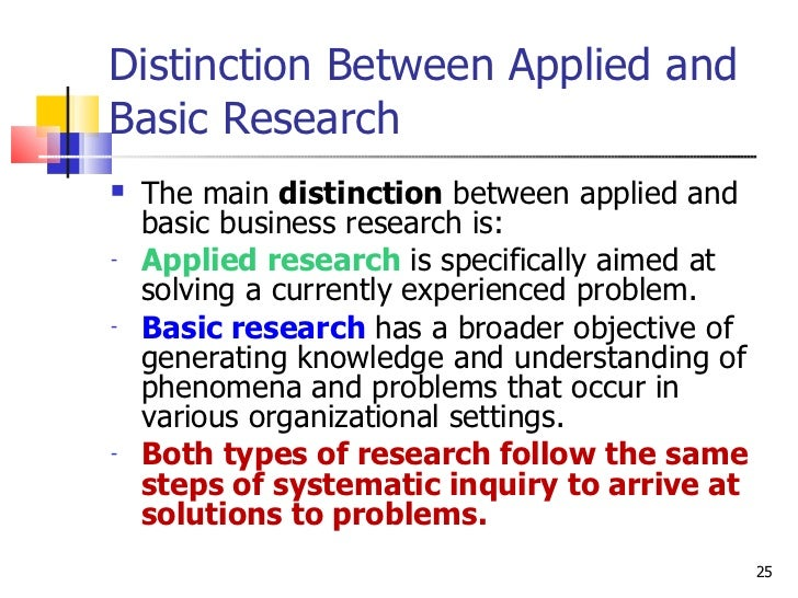 5 Significant Differences Between Basic and Applied Research