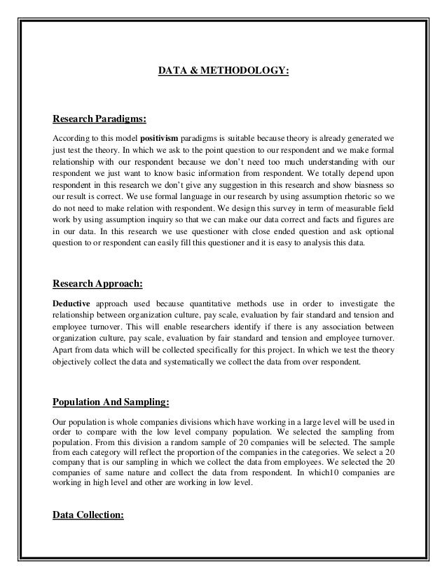 project report on employee turnover pdf