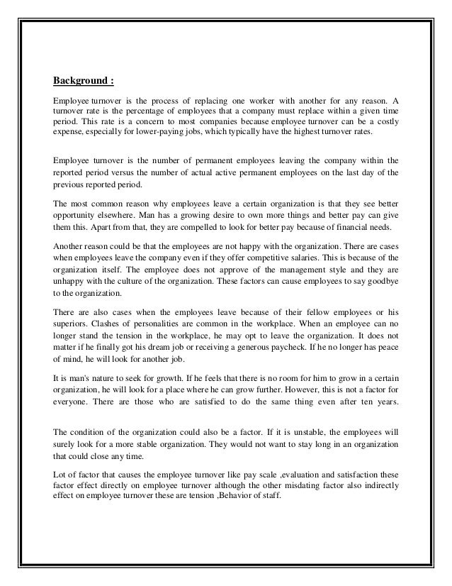 Essay Review Employee Retention Agreement - Essay for you
