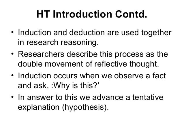 double movement of reflective thought Reflective thinking (qrt) (kember et al, 2000) for use within a cohort of  accounting and  this is a final year undergraduate double-  in the 2nd issue  show a movement towards the lower scores, particularly in respect of.