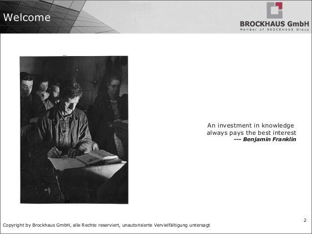 BRO 110: Reference Architecture Slide 2