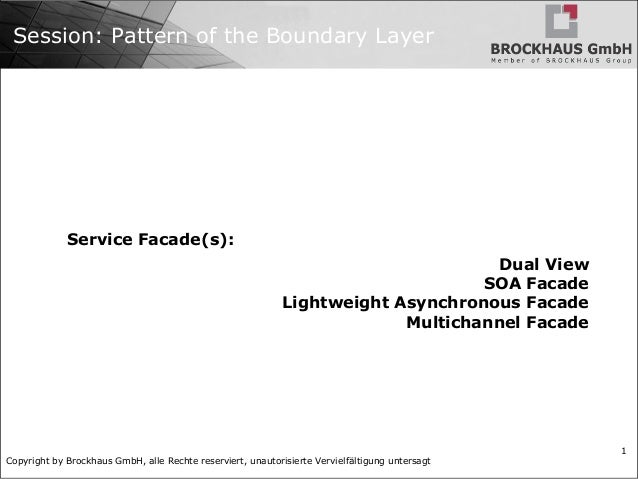 Java Ee Pattern The Boundary Layer