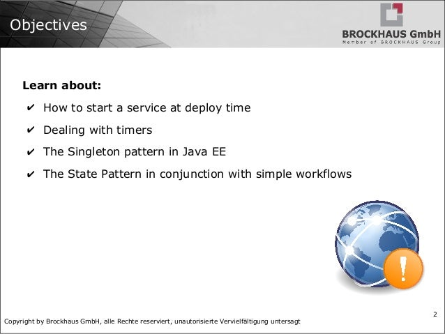 Java EE Pattern: The Control Layer Slide 2