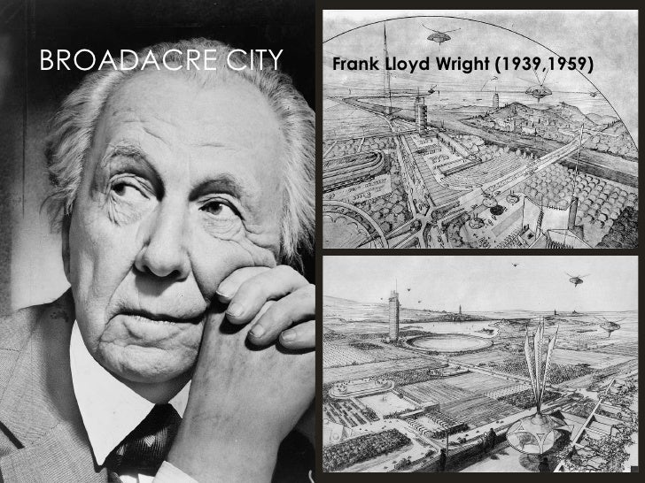 BROADACRE CITY   Frank Lloyd Wright (1939,1959)