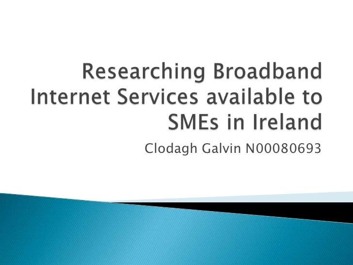 Clodagh Galvin N00080693