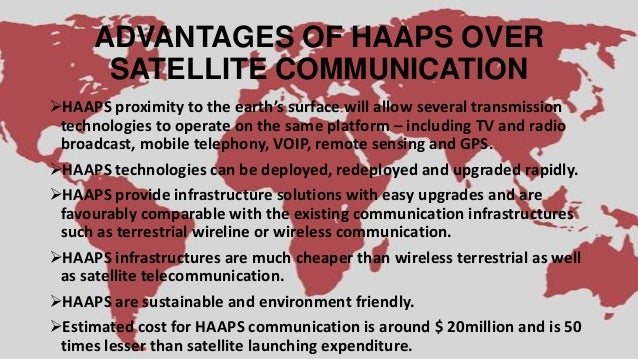 high altitude aeronautical platform stations High altitude platform stations (haps) are unmanned platforms positioned at   services via high-altitude aeronautical platforms: a concept whose time has.