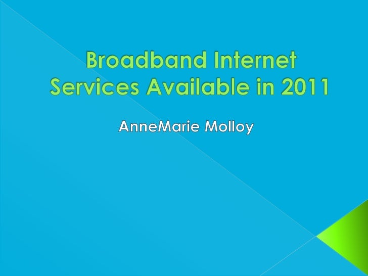    To secure the best possible internet    broadband for a Sole Trader in the Arts    Management sector, operating as a  ...