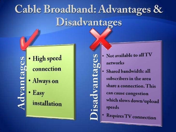 Irish Broadband Advantages Amp Disadvantages Lt Br Gt