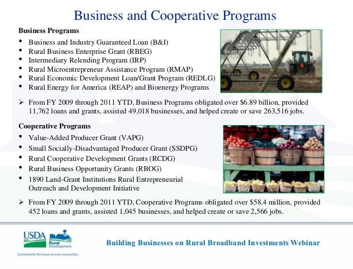 Usda rural development webinar building businesses on for Arkansas rural development loan