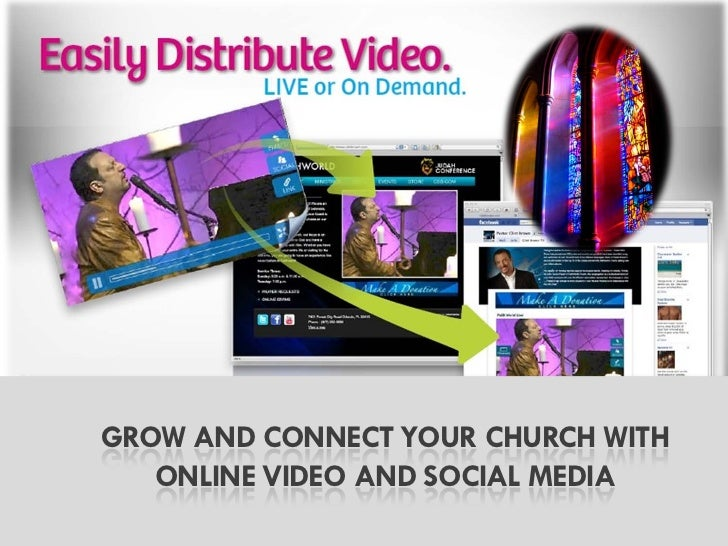 GROW AND CONNECT YOUR CHURCH WITH   ONLINE VIDEO AND SOCIAL MEDIA