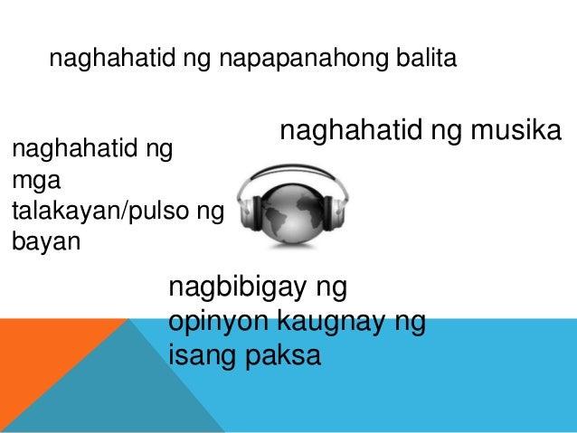Broadcast media radyo Slide 3
