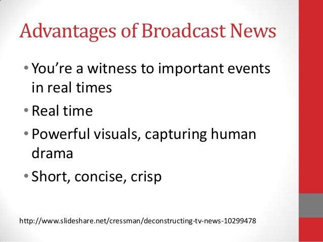 Broadcast news(1)
