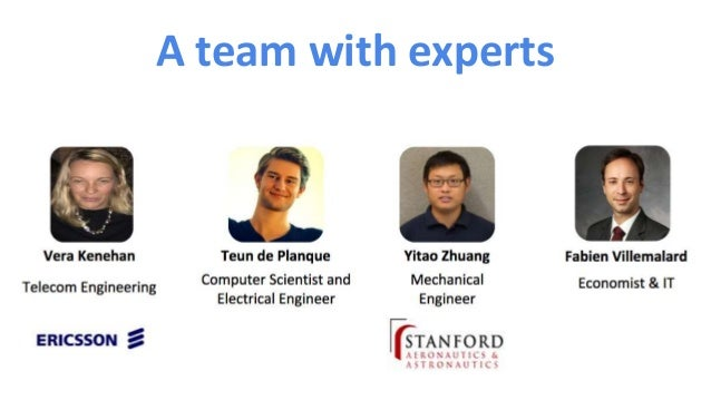 A team with experts