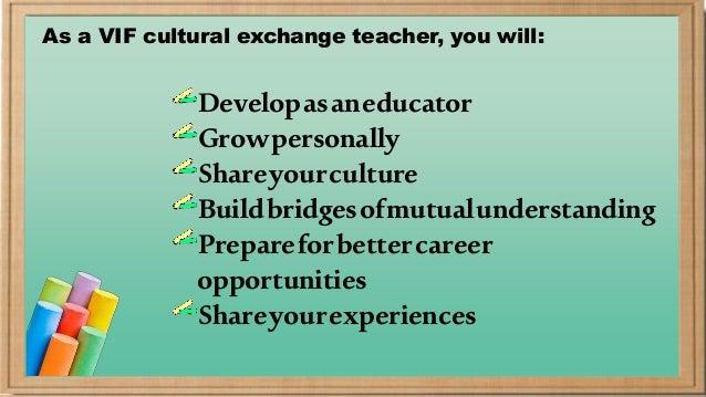 Broadening Teachers Perspective
