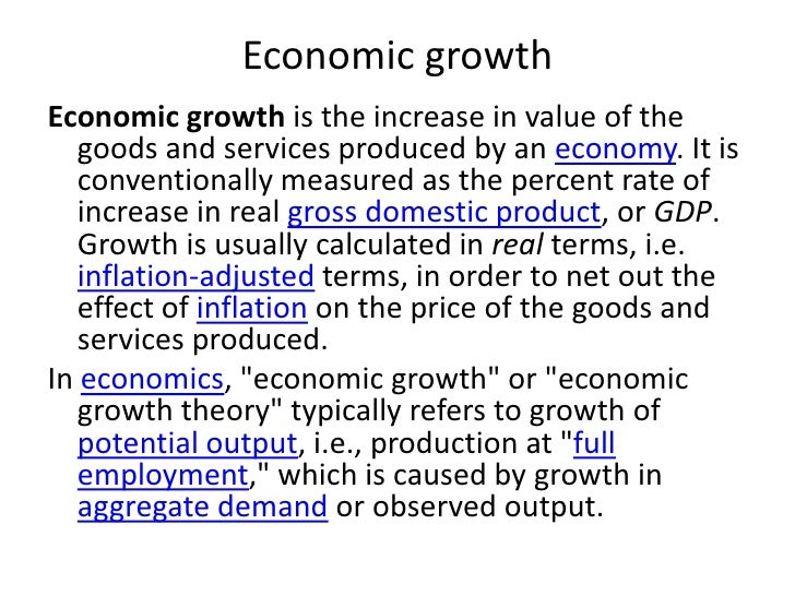understanding the concept behind the monetary valuation of gross domestic product gdp Purchasing power parity  gross domestic product (gdp)  nominal gdp calculates the monetary value in current, absolute terms.