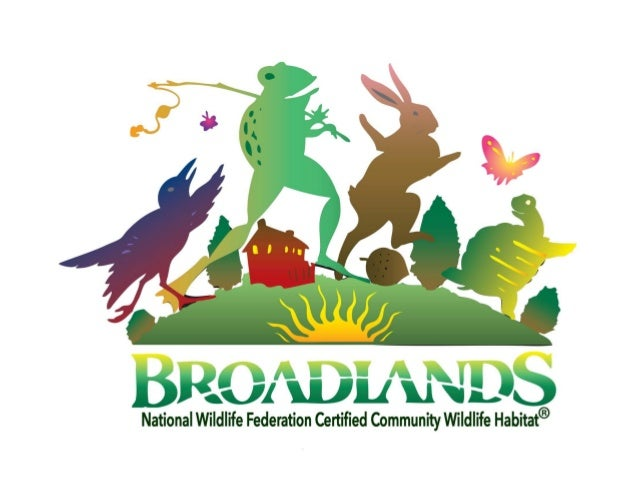•Community Wildlife Habitats garden and landscape with wildlife in mind, •promote the use of native trees and plants, •wor...