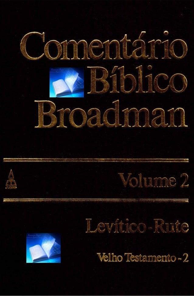 Volume2 ComentárioBíblicoBroadman