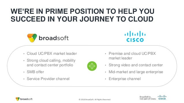 BroadSoft and Cisco Overview & Cloud Calling Solutions