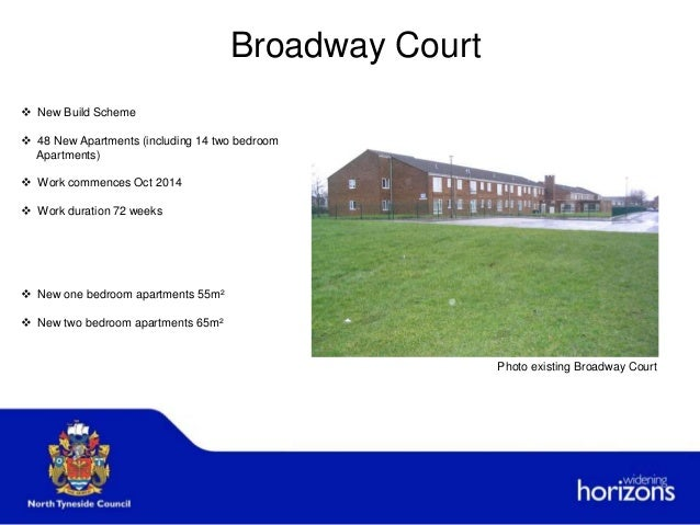 Broadway Court  New Build Scheme  48 New Apartments (including 14 two bedroom Apartments)  Work commences Oct 2014  Wo...